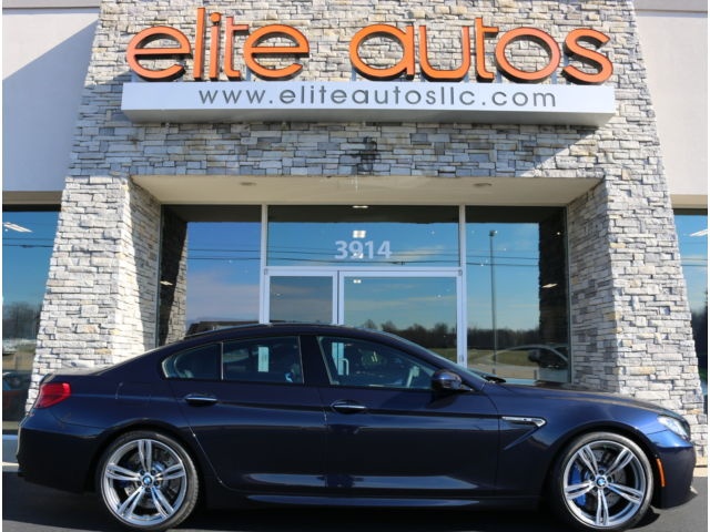 BMW : M6 4dr Sdn Gran BMW M6 GRAN COUPE Carbon Fiber LOADED Executive Package DRIVER ASSISTANCE PLUS