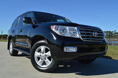 Toyota : Land Cruiser Base Sport Utility 4-Door 2011 toyota land cruiser sunroof navigation dvd cool box 1 owner clean carfax