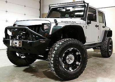 Jeep : Wrangler Rubicon 2012 jeep wrangler rubicon unlimited exc cond 4.5 lift 35 s 14 k upgrades