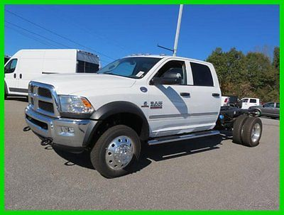 Ram: 4500 HD Chassis 4WD Crew Cab 173 WB 60 CA Tradesman 2016 dodge ram crew cab 173 wb 60 ca tradesman new turbo 6.7 l automatic 4 wd