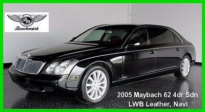 Maybach: 62 2005 maybach 62 turbo 5.5 l v 12 36 v automatic rear wheel drive premium