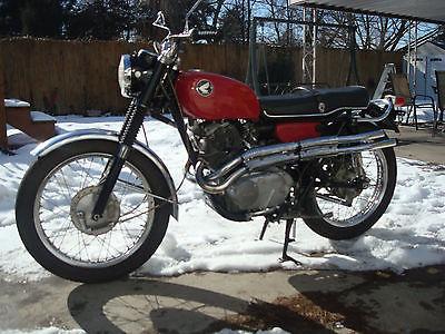 Honda : CL Honda cl 72  1964 Scrambler  6550 miles