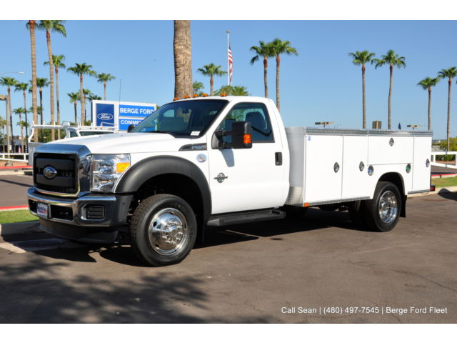 Ford: Other Pickups XL Utility 2015 closeout f 550 2 wd drw diesel 11 royal service body work truck 15 p 471