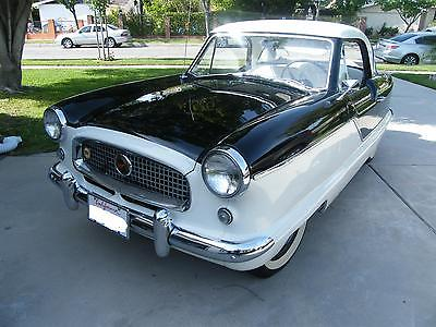 Nash : Metropolitan Nash Metropolitan sedan hardtop auto coupe Excellent condition California car