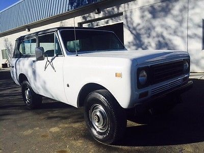 Harvester Scout Cars for sale
