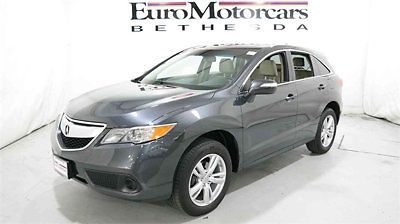 Acura: RDX FWD 4dr 2013 acura rdx suv gray graphite luster metallic 14 tan parchment leather used