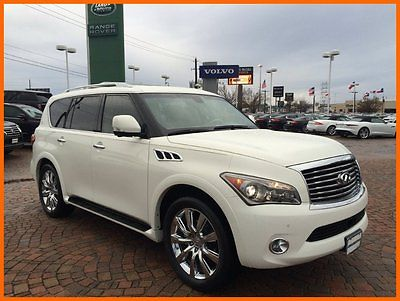Infiniti : QX56 Infiniti Qx56 4x2 2011 infiniti qx 56 suv 50 k miles navigation rear dvd local trade we finance