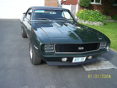 Chevrolet : Camaro rs ss 1969 camaro rs ss