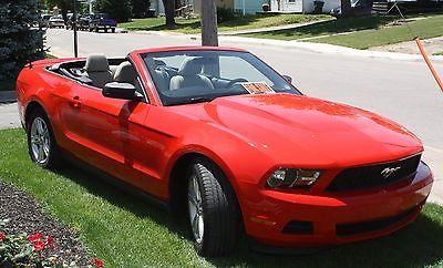 Ford: Mustang 2012 mustang convertible