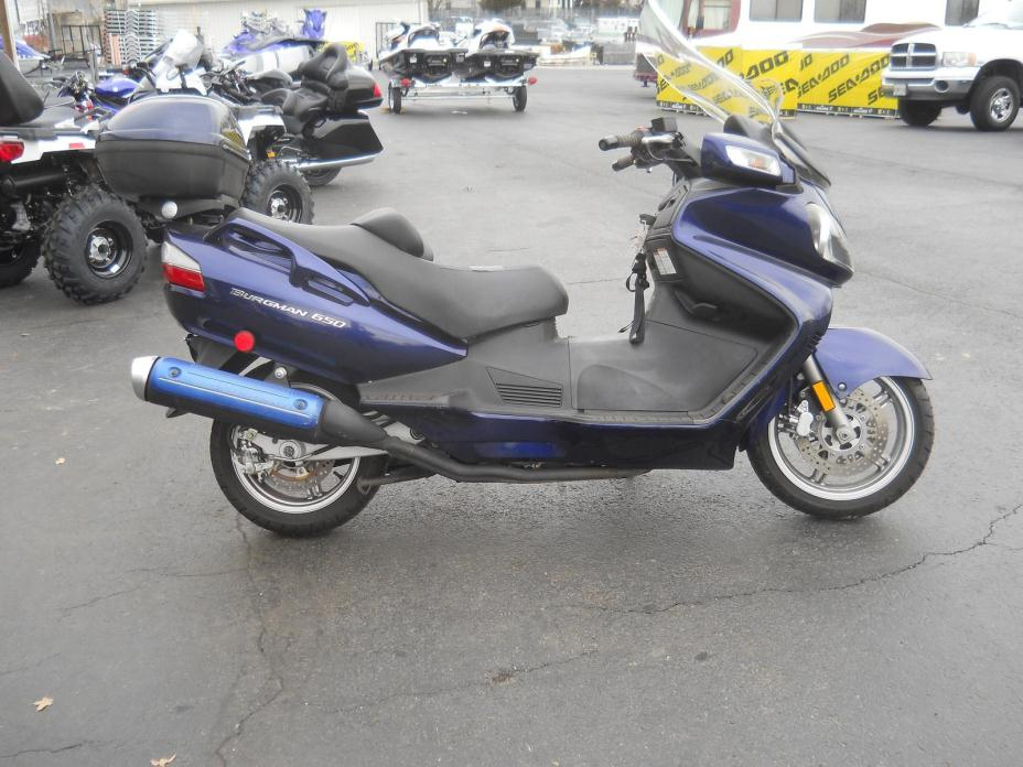 suzuki an 650 motorcycles for sale in maryland. Black Bedroom Furniture Sets. Home Design Ideas