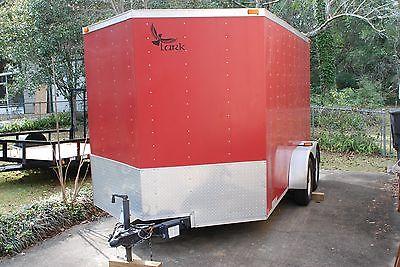 2008 Lark enclosed utility/cargo trailer (7'x12'x6.5' V-nose)