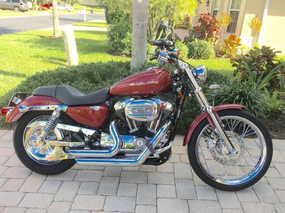 harley davidson sportster 1200 motorcycles for sale in. Black Bedroom Furniture Sets. Home Design Ideas