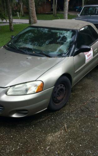 Chrysler: Sebring 2004 chrysler sebring li convertible low miles 114 000
