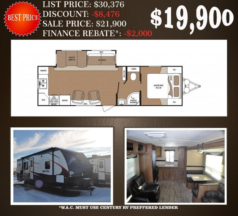 2016 Dutchmen Rv Aspen Trail 1600RB