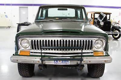 Jeep: Cherokee Chief One-of-A-Kind Strong Running Jeep