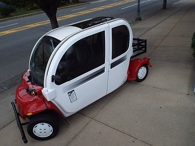 Other Makes: e4 Four Passenger Model Street Legal Package 2012 gem e 4 battery electric street legal lsv nev