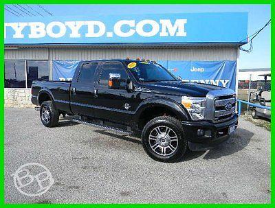 Ford: F-350 Platinum 2015 f 350 platinum used turbo loaded 6.7 l v 8 32 v automatic 4 wd pickup truck