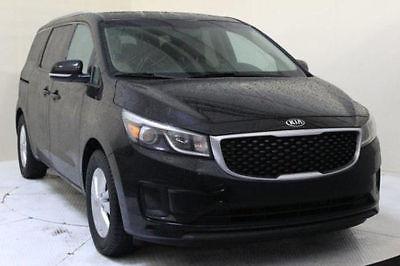 Kia : Sedona LX BACK UP CAMERA CLEAN CAR FAX POWER DOORS  2015 kia sedona lx mini passenger van 4 door 3.3 l clean title black on beige