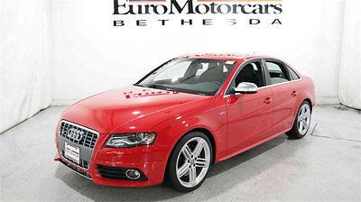 Audi: S4 4dr Sedan S Tronic Prestige Audi S4 4dr Sedan prestige brilliant red financing 11 black leather rs4 12 auto