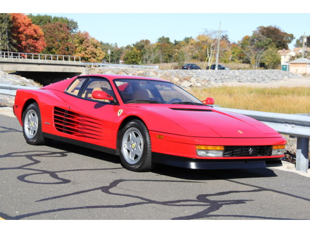 Ferrari: Testarossa Testarossa 1988 ferrari testarossa low miles well maintained