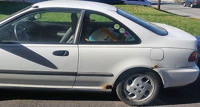 Honda: Civic DX 1995 honda civic dx coupe