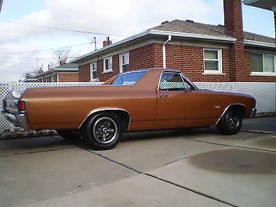 Chevrolet : El Camino Custom 1972 custom el camino