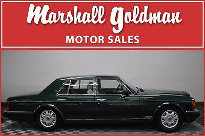 Bentley : Brooklands 1997 bentley brooklands sedan dark green met ivory green 2 tone 23 300 miles