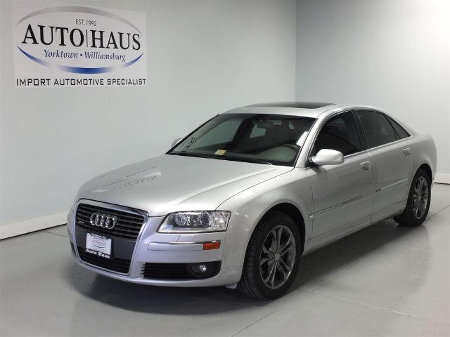 Audi: A8 4.2 2006 audi a 8 4.2 l quattro mechanic s special looks runs drives good