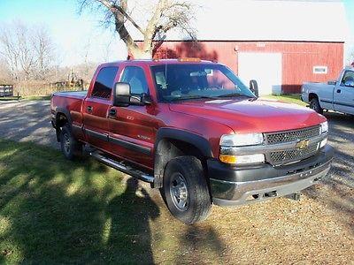 Chevrolet: Silverado 2500 LS 2001 chevy silverado 2500 hd crew cab 2 wd 8.1 liter