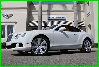 Bentley: Continental GT GT Coupe 2-Door 2012 used turbo 6 l w 12 48 v automatic awd