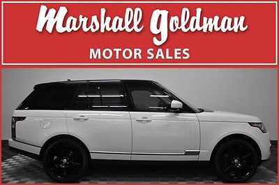 Land Rover : Range Rover Supercharged 2016 range rover supercharged v 8 1900 miles panorama sunroof 825 w sound