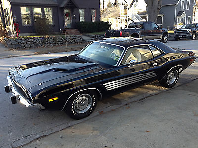 Dodge : Challenger Rallye Package Original Double Black #'s 340ci & A833 4-Spd. Same Owner 26 Yrs. Broadcast Sheet