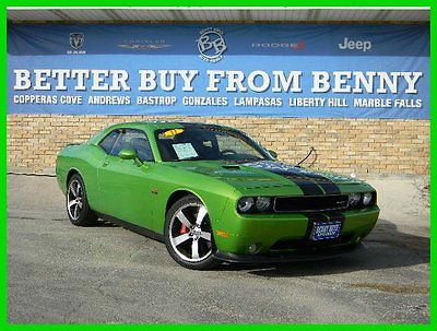Dodge: Challenger SRT8 Certified 2011 challenger srt 8 used certified 6.4 l v 8 16 v rwd coupe