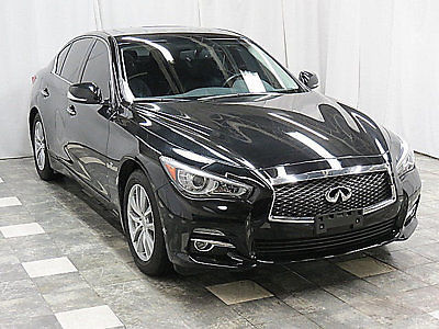Infiniti : Q50 4dr Sedan AWD 2014 infiniti q 50 awd 10 k navigation cam heated seats sunroof