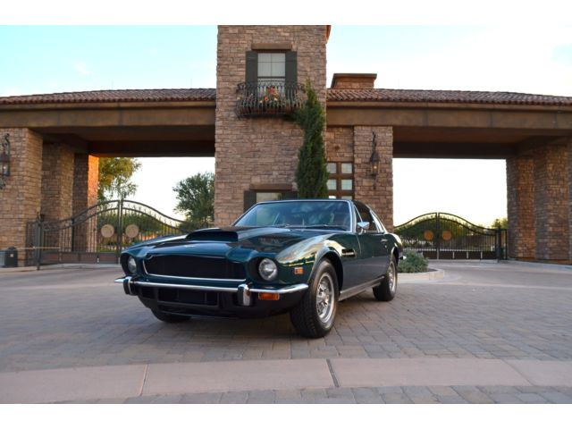 Aston Martin : Other V8 Coupe 1974 aston martin v 8 coupe stunning mostly original blue plate ca car