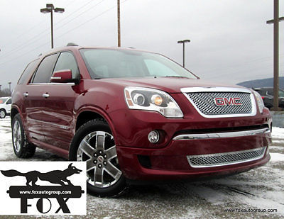 GMC : Acadia DENALI AWD 1 owner low miles sunroof heated leather heads up remote start trailer tow