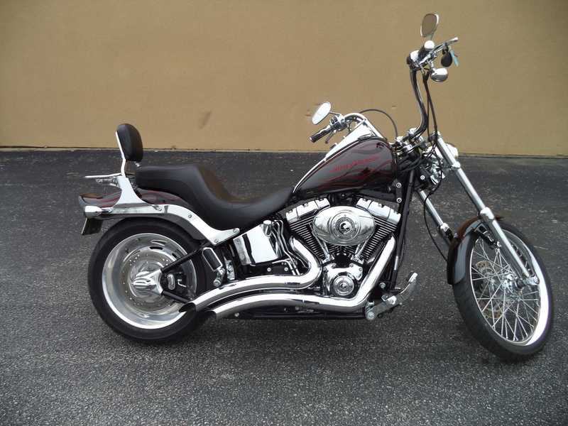 harley davidson softail custom motorcycles for sale in louisville kentucky. Black Bedroom Furniture Sets. Home Design Ideas