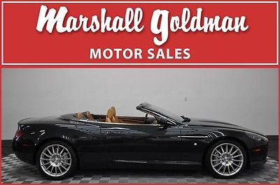 Aston Martin : DB9 Volante Convertible 2-Door 2008 aston martin db 9 convertible green w tan leather nav htd sts 5300 miles