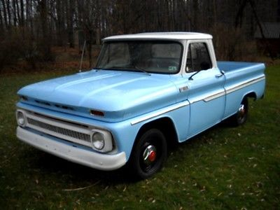 Chevrolet : C-10 65 c 10 short bed 2 wd family owned rare automatic trans rust free turnkey clean