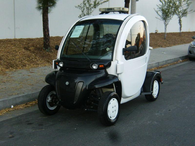 2007 GEM Electric Cart Street Legal with Doors Utility Cart Golf Cart