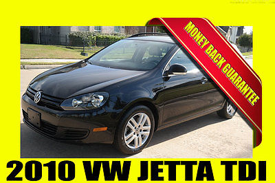 Volkswagen : Jetta JETTA TDI ~ RUST FREE ~ MONEY BACK GUARANTEE!! 2010 volkswagen jetta tdi wagon rust free bluetooth money back guarantee