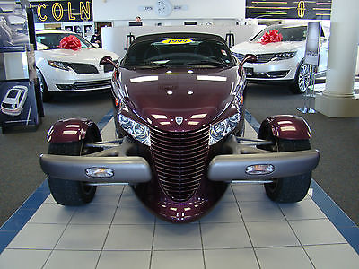 Plymouth : Prowler Base Convertible 2-Door 1999 plymouth prowler base convertible 2 door 3.5 l great condition low miles