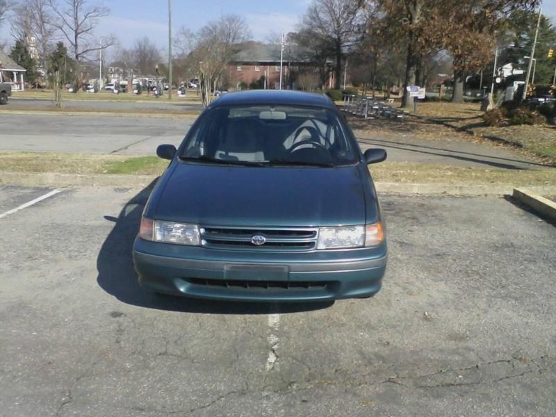 1994 toyota tercel  dx  blue auto 77k mi
