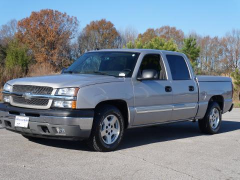 2005 CHEVROLET SILVERADO 1500 4 DOOR CREW CAB SHORT BED TRUCK