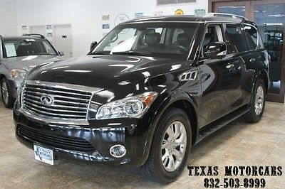 Infiniti : QX56 With Every option 1 Owner Only 51k 2011 infiniti qx 56 7 passg nav loaded with every opion 1 owner with only 51 k