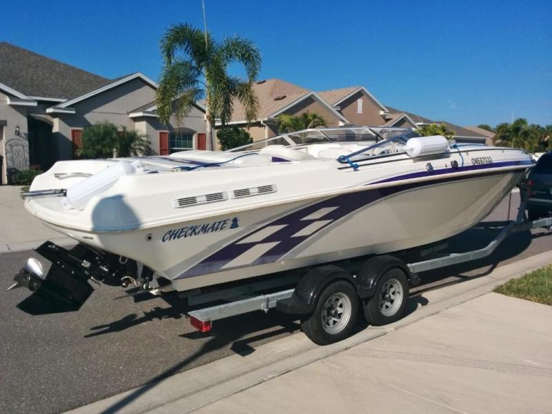 2001 CHECKMATE BOAT, 28 FT. ZT280