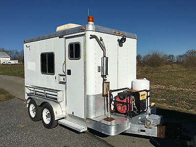Featherlite Aluminum Mobile Office, Vending, Concession, Job Site Trailer, Nice