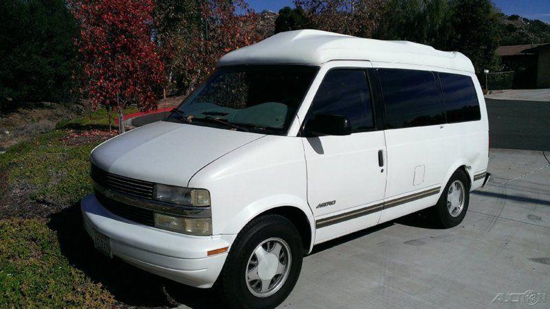 chevrolet astro cargo van california cars for sale. Black Bedroom Furniture Sets. Home Design Ideas