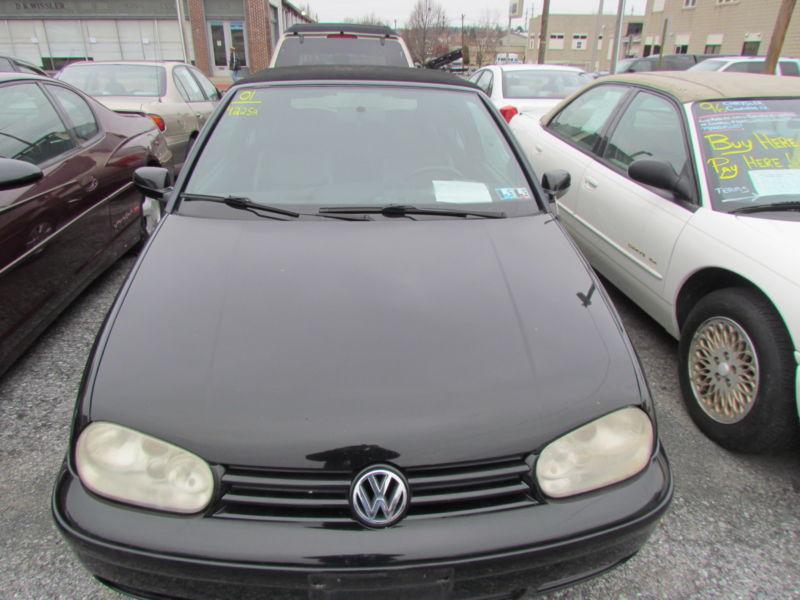 2001 Volkswagen Cabrio Stock#4225A