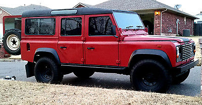 Land Rover : Defender 110, CSW Land Rover Defender 110 2.5TD, 1989